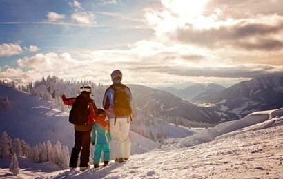 ski holiday in central Switzerland